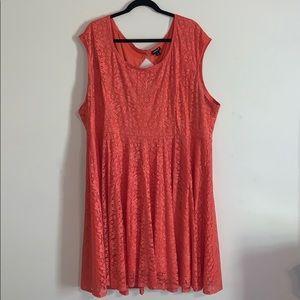 Torrid Lace Skater Dress